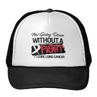 Not Going Down Without a Fight - Lung Cancer Hat