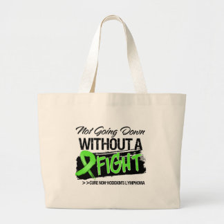 Not Going Down Without a Fight Non-Hodgkins Jumbo Tote Bag