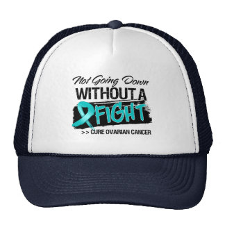 Not Going Down Without a Fight - Ovarian Cancer Hats