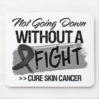 Not Going Down Without a Fight - Skin Cancer Mousepads