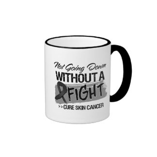 Not Going Down Without a Fight - Skin Cancer Ringer Mug