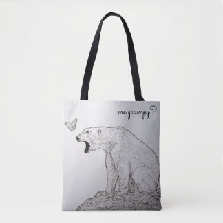 Not Grumpy Tote bag