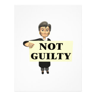 Not Guilty Flyers