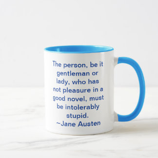 Not had pleasure in a good novel mug
