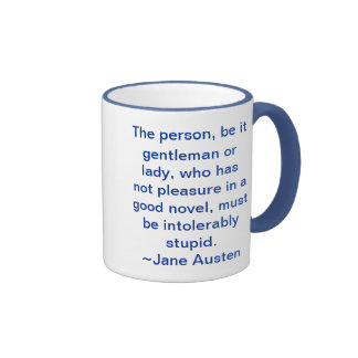 Not had pleasure in a good novel ringer mug