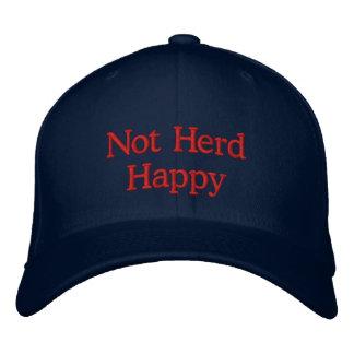 Not Herd Happy Baseball Cap