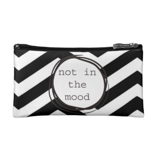 Not in the Mood funny Cosmetics Bags