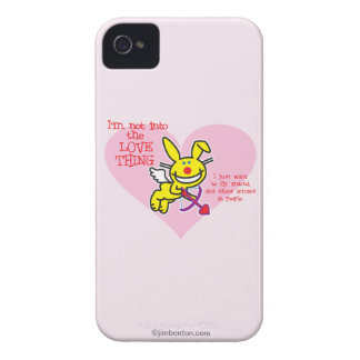 Not Into The Love Thing Case-Mate iPhone 4 Cases