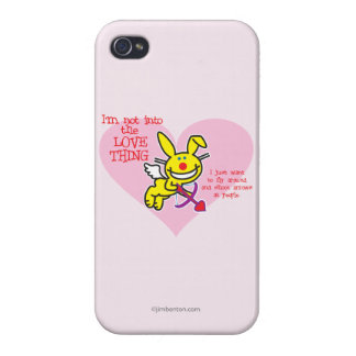 Not Into The Love Thing iPhone 4 Cover