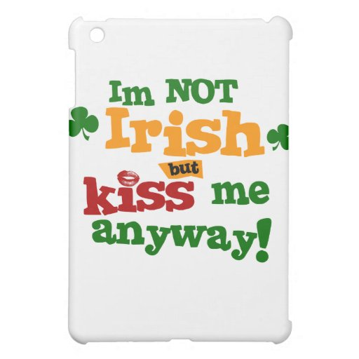 Not Irish $49.95 iPad Art Case Cover For The iPad Mini