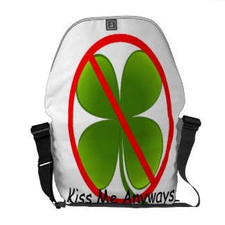 Not Irish, Kiss Me Anyways Commuter Bags