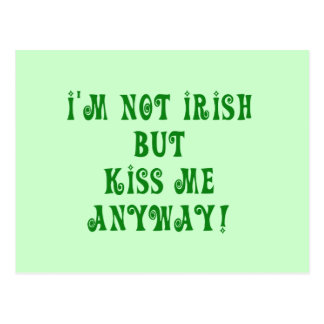 Not Irish Tshirts and Gifts Postcards