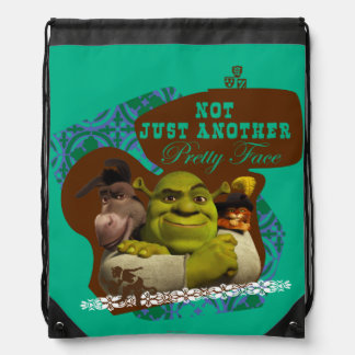 Not Just Another Pretty Face Drawstring Bag
