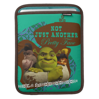 Not Just Another Pretty Face iPad Sleeve