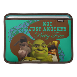 Not Just Another Pretty Face MacBook Sleeve
