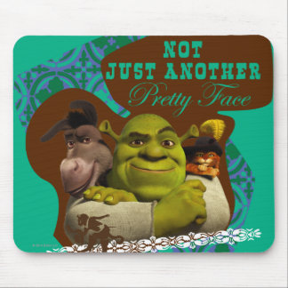 Not Just Another Pretty Face Mouse Mat