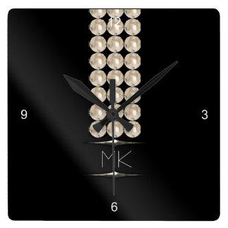 Not Just June Birthday Glam Wall Clocks