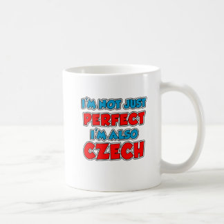Not Just Perfect Czech Mug