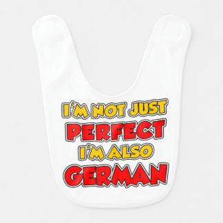 Not Just Perfect German Bib