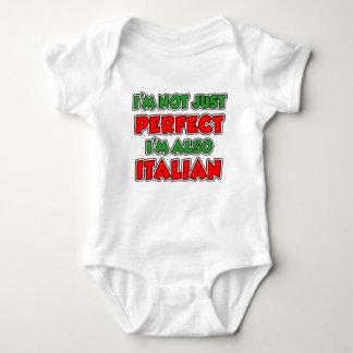 Not Just Perfect Italian Kids Baby Bodysuit
