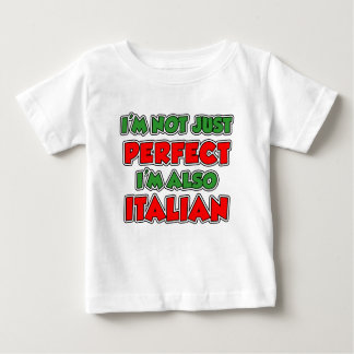 Not Just Perfect Italian Kids Baby T-Shirt