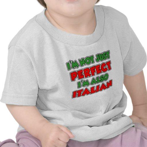 Not Just Perfect Italian Kids Tee Shirt