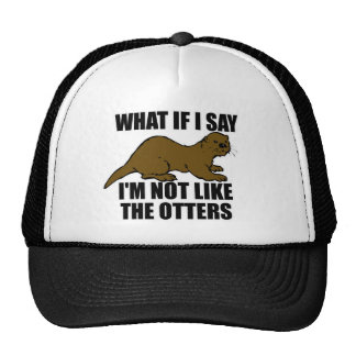 Not Like the Otters Cap