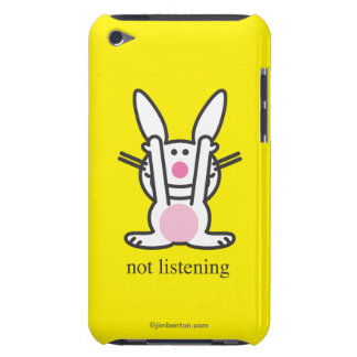 Not Listening Barely There iPod Cases