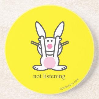 Not Listening Coaster