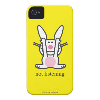 Not Listening iPhone 4 Case-Mate Case