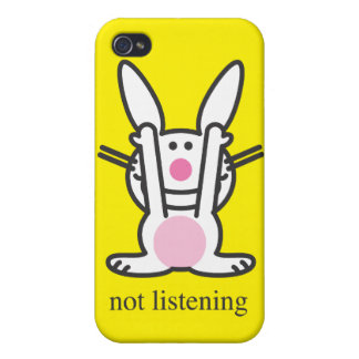 Not Listening iPhone 4 Cover