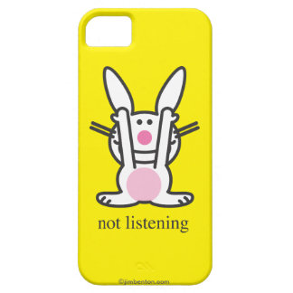 Not Listening iPhone 5 Cover