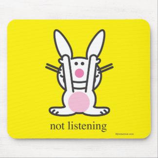 Not Listening Mouse Mat