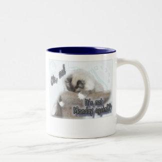 Not Monday again! Two-Tone Coffee Mug