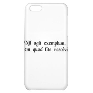 Not much worth is an example that solves one iPhone 5C cases