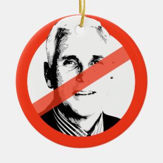 Not My President - Anti-Trump Christmas Ornament