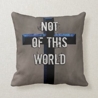 Not of This World Christian Cross NOTW Cushion