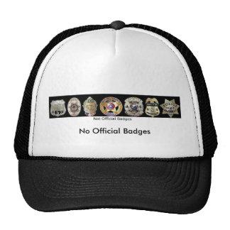 Not Official Badges, No Official Badges Cap