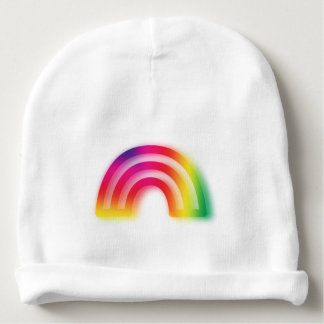 Not one or two, but three rainbows! baby beanie