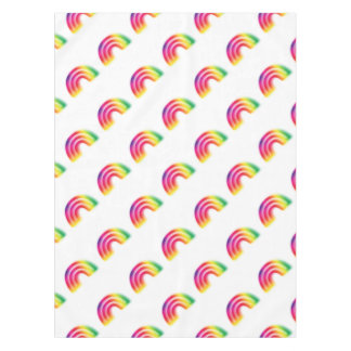 Not one or two, but three rainbows! tablecloth