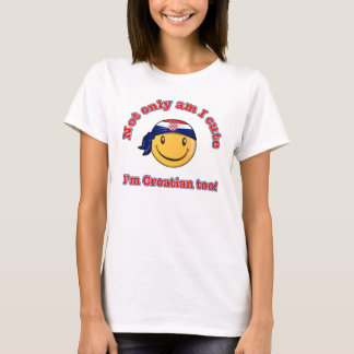 Not only am I cute I'm Croatian too! T-Shirt