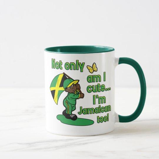Not only am I cute I'm Jamaican too! Mug