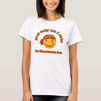 Not only am I cute I'm Macedonian too T-Shirt