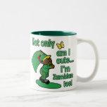 Not only am I cute I'm Zambian too! Coffee Mugs