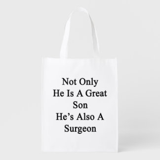 Not Only He Is A Great Son He's Also A Surgeon