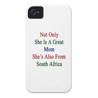 Not Only She Is A Great Mom She's Also From South iPhone 4 Cases