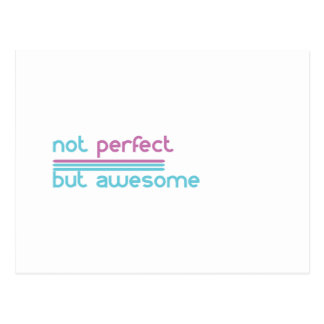 Not perfect.... postcard