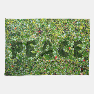 Not prickly Holly Peace Kitchen towel