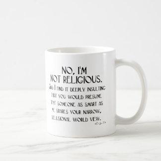 Not Religious Coffee Mug