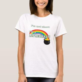 not short, a  leprechaun T-Shirt